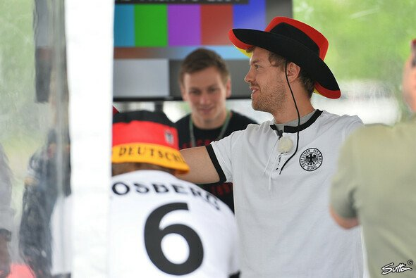 Sebastian Vettel ist großer Fußball-Fan