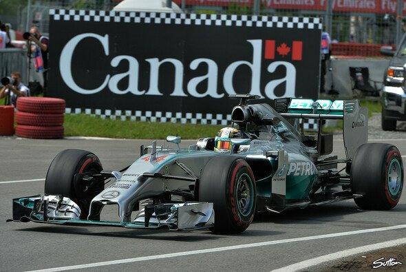 Lewis Hamilton beendete den Freitag in Montreal als Schnellster