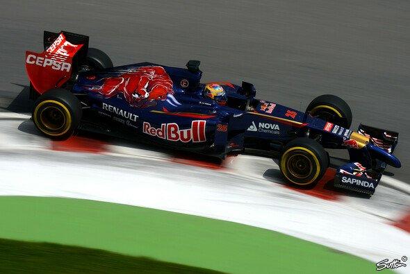 Der Start ins Wochenende verlief für Toro Rosso suboptimal