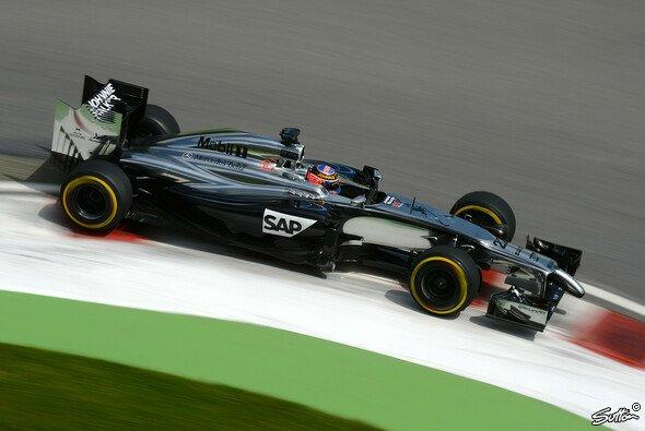 Jenson Button nutzte in der Schlussphase seine Chance