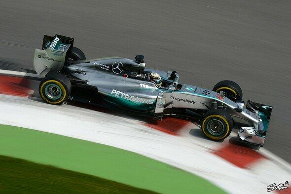 Wieder einmal Bestzeit für Lewis Hamilton
