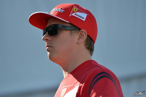 Kimi Räikkönen läuft einem Erfolgserlebnis hinterher