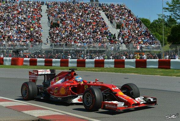 Fernando Alonso steht nur in der vierten Startreihe