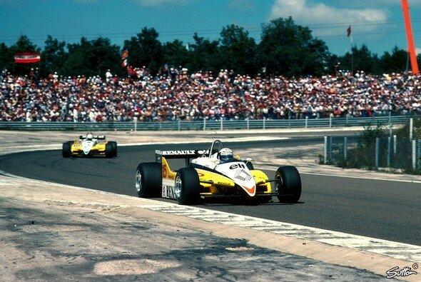 Der Frankreich GP 1982 in Le Castellet hatte für Renault-Pilot Alain Prost schwerwiegende Folgen - Foto: Sutton