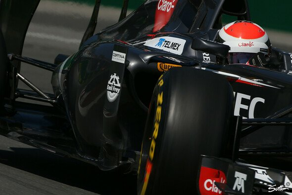 Adrian Sutil hofft auf deutliche Verbesserungen am Sauber