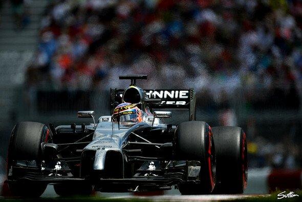 Jenson Button schaffte zumindest den Sprung in Q3