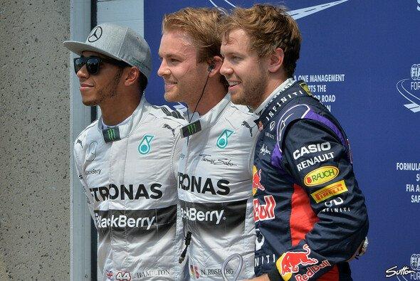 Nico Rosberg setzte sich etwas unerwartet gegen Lewis Hamilton durch