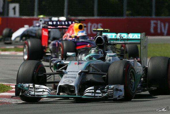 Nico Rosberg konnte sich nicht vor Daniel Ricciardo halten
