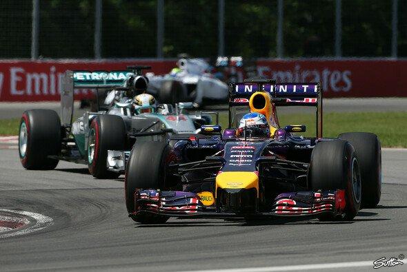 Vettel erwischte einen sehr guten Start