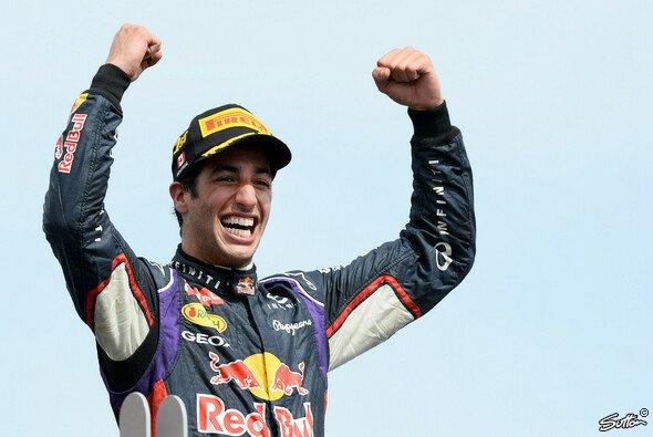 Daniel Ricciardo ist ganz oben angekommen