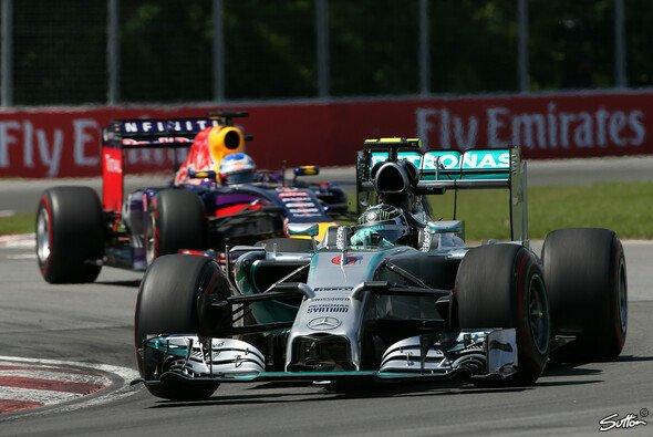 Lautet das Duell auch in Spielberg Mercedes gegen Red Bull?