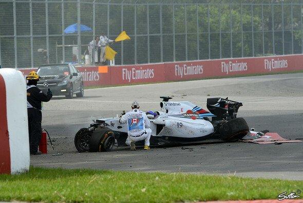 Felipe Massas Kanada GP endete hier - Foto: Sutton