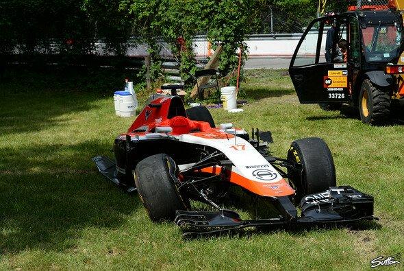 Marussias Bilder vom Kanada GP sind wenig erfreulich