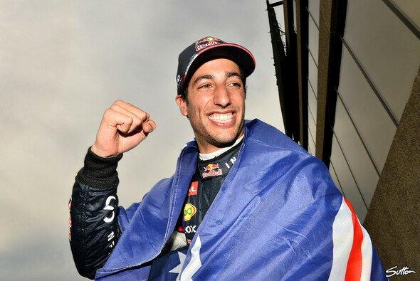 Daniel Ricciardo gewann seinen ersten Grand Prix