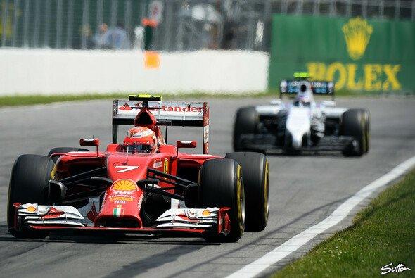 Kimi Räikkönen beendete den Kanada GP auf Platz 10 - Foto: Sutton
