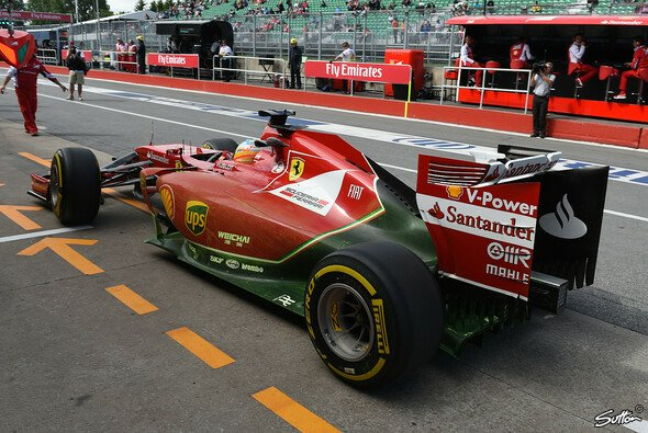 Großbaustelle Ferrari F14 T