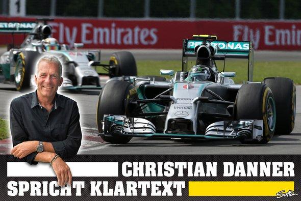 Christian Danner analysiert für Motorsport-Magazin.com das Stallduell bei Mercedes - Foto: Sutton/adrivo