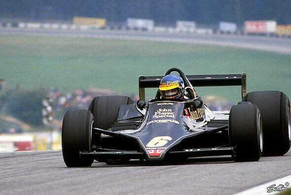Ronnie Peterson beim �sterreich GP 1978 - Foto: Sutton