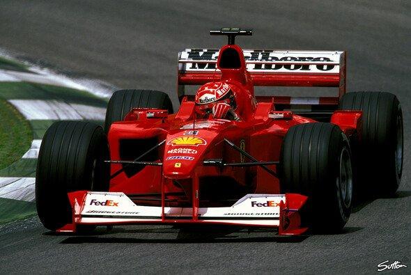 Einige von Michael Schumachers legendärsten Rennautos werden in Köln ausgestellt - Foto: Sutton