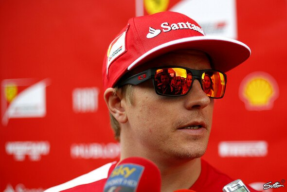 Kimi Räikkönen sah die Top-10 nur von hinten