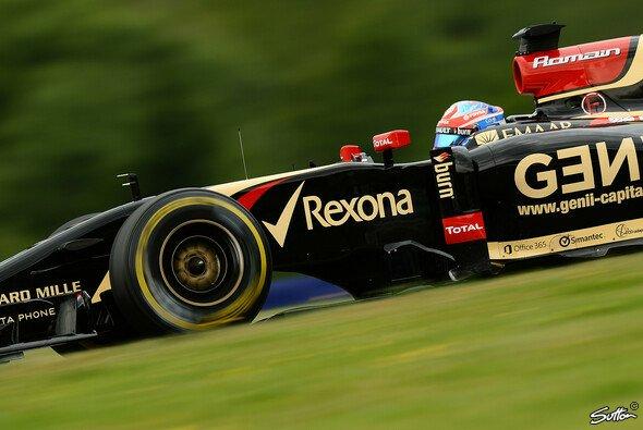 Romain Grosjean baut auf die Lonrun-Pace
