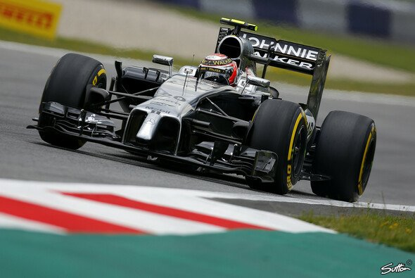 Kevin Magnussen war der langsamere der beiden McLaren-Piloten