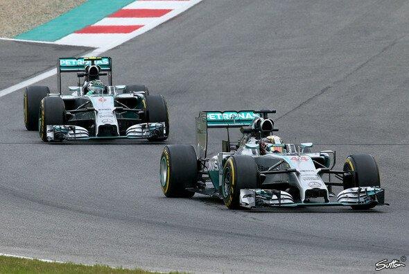 Lewis Hamilton und Nico Rosberg dominierten den Freitag auf dem Red Bull Ring