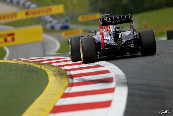 Keine Punkte, kein Zielflagge - aber auch keine Strafe: Sebastian Vettel in Spielberg