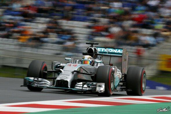 Lewis Hamilton fand schnell in den Österreich-Rhythmus