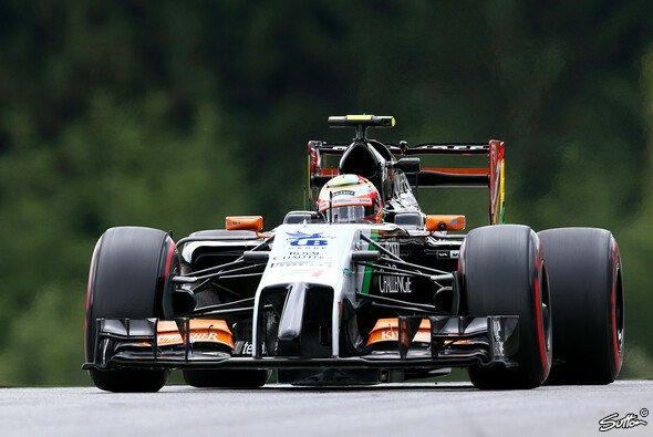 Nach seinem sechsten Platz in Österreich will Sergio Perez auch in Silverstone viele Punkte - Foto: Sutton