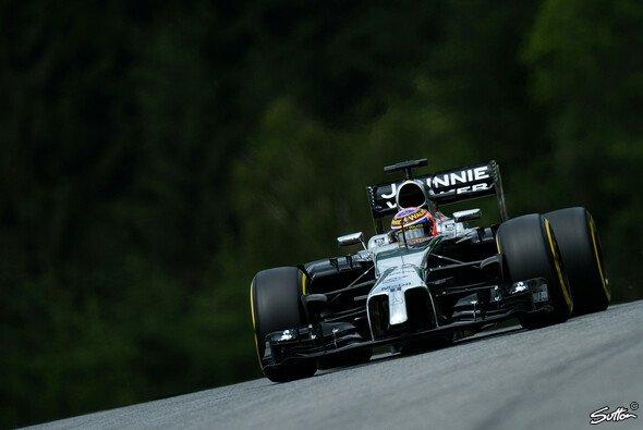 Jenson Button hatte am Samstag Probleme