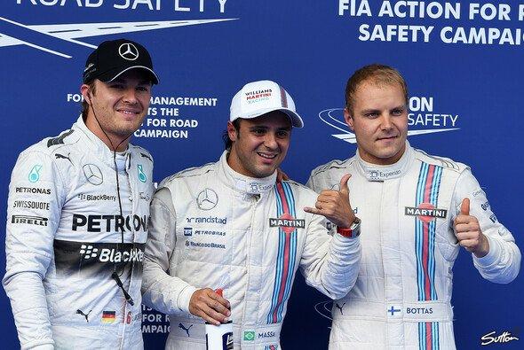 Felipe Massa und Valtteri Bottas nehmen die erste Startreihe ein