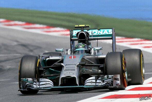 Rosberg gibt weiter Vollgas