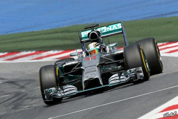 Lewis Hamilton belegt beim Großen Preis von Österreich den zweiten Platz