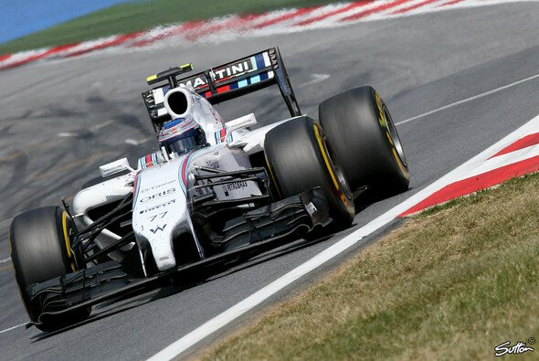 Mit dem Williams FW36 hat Bottas ein absolutes Spitzenauto zur Verf�gung - Foto: Sutton