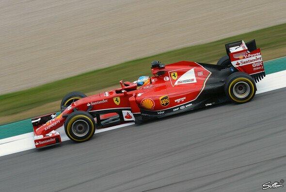 Ferrari setzte die neuen Teile auch im Rennen ein