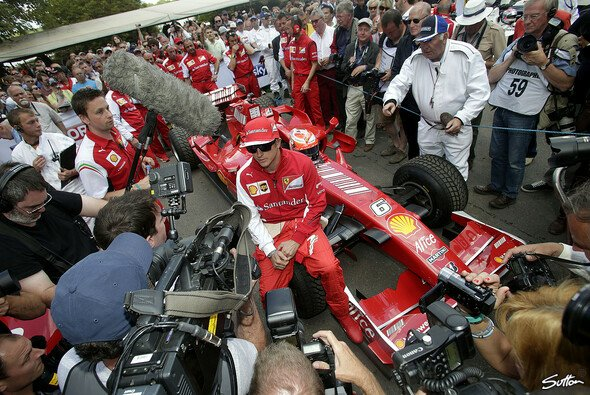 Kimi R�ikk�nen zu Gast beim Goodwood Festival of Speed - Foto: Sutton