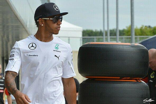 Hamilton hat mit den 2014er Reifen keine Probleme