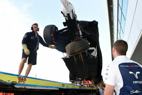 Schlechter Tag für Williams in Silverstone - Foto: Sutton