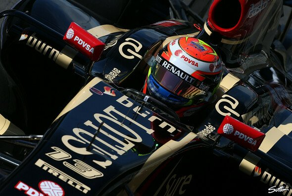 Pastor Maldonado haderte mit der Power Unit - Foto: Sutton