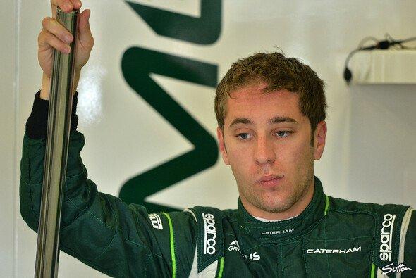 Robin Frijns ist diese Saison als Testfahrer für Caterham aktiv