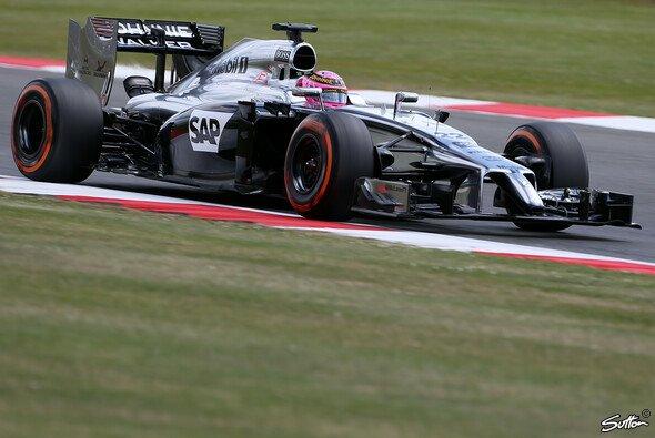 Jenson Button startete bescheiden in sein Heimwochenende