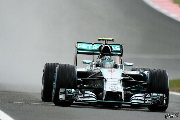 Nico Rosberg steht in Silverstone auf Pole