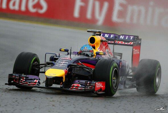 Sebastian Vettel hatte das bessere Ende auf seiner Seite