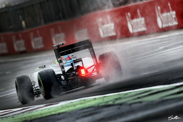 Der Regen brachte Williams keinen Segen
