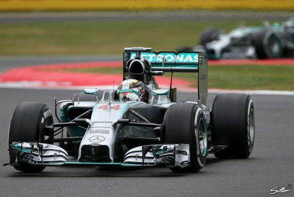 Bei Mercedes ist wieder mal nicht alles eitel Sonnenschein - Foto: Sutton