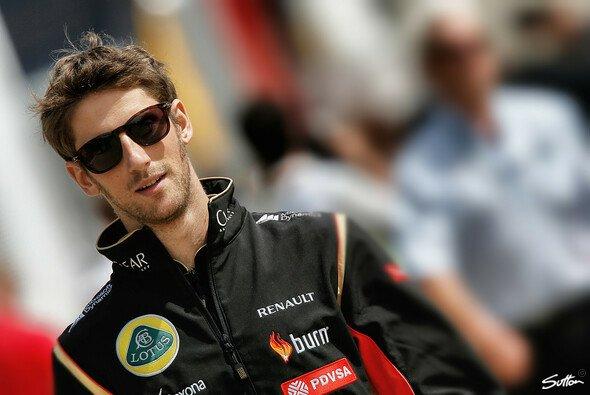 Romain Grosjean lässt sich von der schwierigen Situation nicht verrückt machen