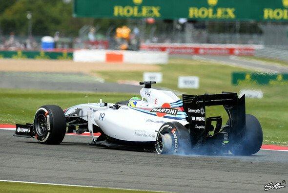 So sah Felipe Massas Auto nach der Kollision mit Kimi Räikkönen aus