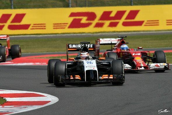 Hülkenberg hatte gegen Alonso keine Chance