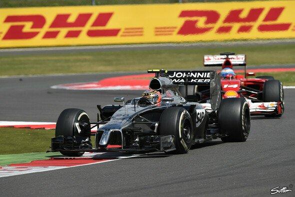 Kevin Magnussen lag zeitweise vor Fernando Alonso